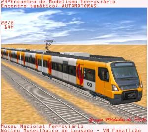 Encuentro modelismo ferroviario de Lousado